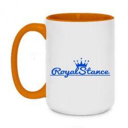 Кружка двухцветная 420ml Royal Stance
