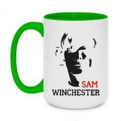 Кружка двоколірна 420ml Sam Winchester