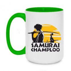 Кружка двоколірна 420ml Samurai Champloo