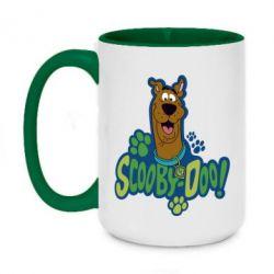 Кружка двухцветная 420ml Scooby Doo!