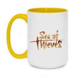 Кружка двоколірна 420ml Sea of Thieves logo