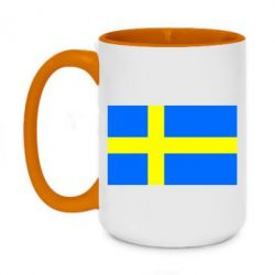 Кружка двоколірна 420ml Швеція