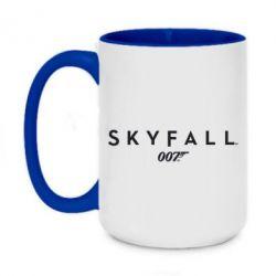 Кружка двухцветная 420ml Skyfall 007 - FatLine
