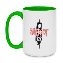Кружка двоколірна 420ml Slipknot Music