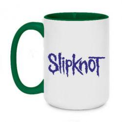 Кружка двухцветная 420ml Slipknot - FatLine