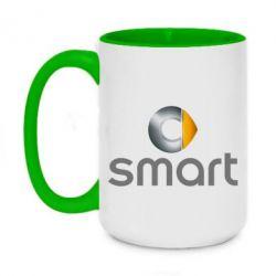 Кружка двоколірна 420ml Smart 2