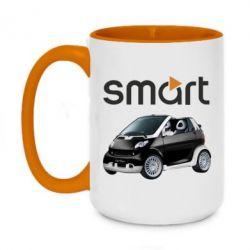 Кружка двухцветная 420ml Smart 450 - FatLine