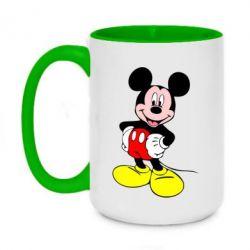 Кружка двоколірна 420ml Сool Mickey Mouse
