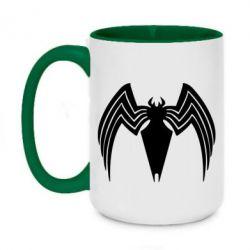 Кружка двоколірна 420ml Spider venom