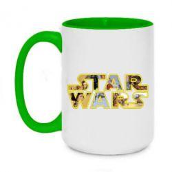 Кружка двоколірна 420ml Star Wars 3D
