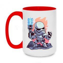Кружка двоколірна 420ml Stormtrooper chibi