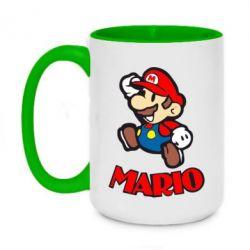 Кружка двухцветная 420ml Супер Марио - FatLine