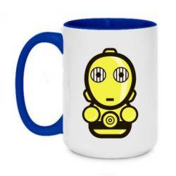 Кружка двоколірна 420ml Sweet C-3PO