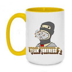 Кружка двухцветная 420ml Team Fortress 2 Art
