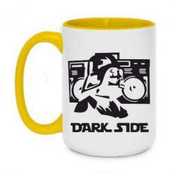 Кружка двухцветная 420ml Темная сторона Star Wars