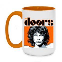 Кружка двоколірна 420ml The Doors