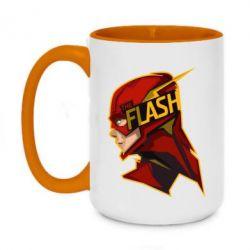 Кружка двоколірна 420ml The Flash