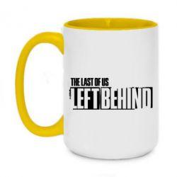 Кружка двоколірна 420ml The Last of us Left Behind