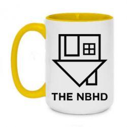 Кружка двухцветная 420ml THE NBHD Logo