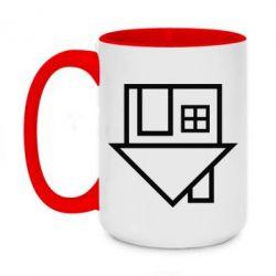 Кружка двухцветная 420ml The Neighbourhood Logotype
