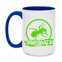 Кружка двоколірна 420ml The Prodigy мураха