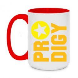 Кружка двухцветная 420ml The Prodigy Star