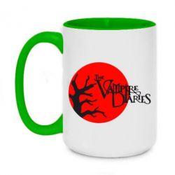 Кружка двухцветная 420ml The Vampire Diaries