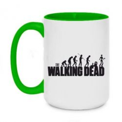 Кружка двухцветная 420ml The Walking Dead Evolution - FatLine