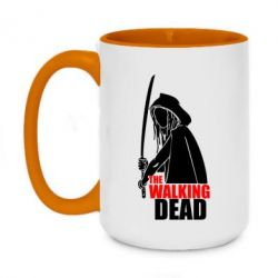 Кружка двоколірна 420ml The walking dead (Ходячі мерці)