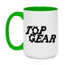 Кружка двоколірна 420ml Top Gear I