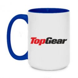 Кружка двоколірна 420ml Top Gear