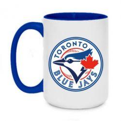Кружка двоколірна 420ml Toronto Blue Jays