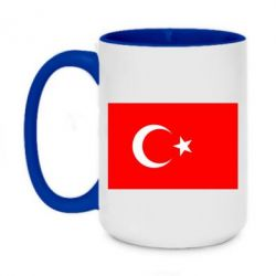 Кружка двухцветная 420ml Турция