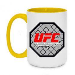 Кружка двухцветная 420ml UFC Cage