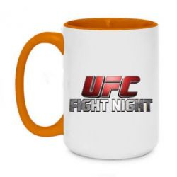 Кружка двоколірна 420ml UFC Fight Night