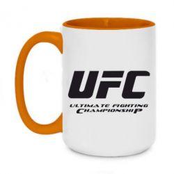 Кружка двухцветная 420ml UFC