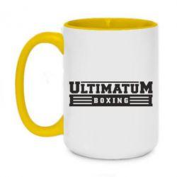 Кружка двухцветная 420ml Ultimatum Boxing
