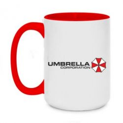 Кружка двоколірна 420ml Umbrella Corp - FatLine