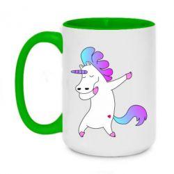 Кружка двухцветная 420ml Unicorn swag