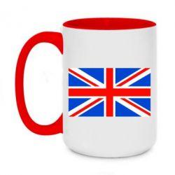 Кружка двухцветная 420ml Великобритания