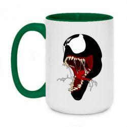Кружка двоколірна 420ml Venom jaw