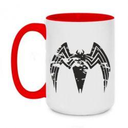 Кружка двоколірна 420ml Venom Spider