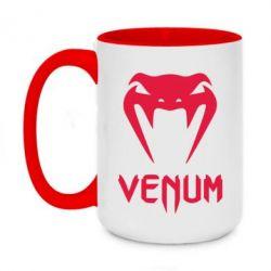 Кружка двухцветная 420ml Venum2