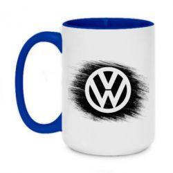 Кружка двоколірна 420ml Volkswagen art