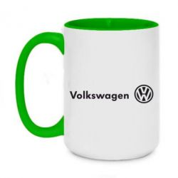 Кружка двухцветная 420ml Volkswagen Motors