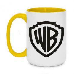 Кружка двоколірна 420ml Warner brothers