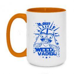 Кружка двухцветная 420ml Weed Vader