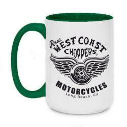 Кружка двоколірна 420ml West Coast Choppers