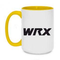Кружка двоколірна 420ml WRX