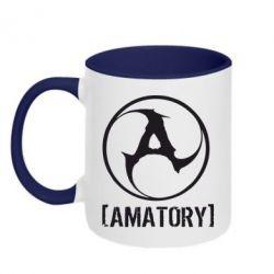 Кружка двухцветная Amatory - FatLine